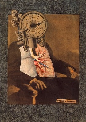 Raoul Hausmann, Dada (Collage for the First International Dada Fair in Berlin), 1920
